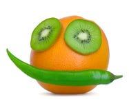 Face da fruta Imagem de Stock Royalty Free