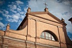Face da igreja histórica Fotos de Stock Royalty Free