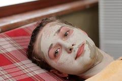 Face da limpeza Imagem de Stock