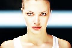 Face da mulher bonita Fotografia de Stock