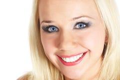 Face da mulher do Close-up Imagens de Stock