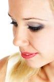 Face da mulher do Close-up Foto de Stock Royalty Free