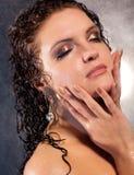 Face da mulher nova Imagens de Stock