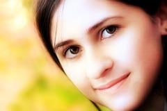 Face da rapariga Fotografia de Stock Royalty Free
