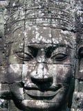 Face de Bayon Foto de Stock