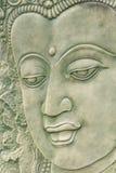 Face de Buddah, close-up tailandês do fresco Imagem de Stock Royalty Free