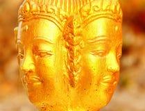 A face de Buddha foto de stock