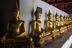 Face de Buddha A Buda Chinnarat Phitsanulok de Wat Phra Si Mahathat Woramahawihan ? um wat de Theravada em Tak Province, Tail?ndi imagens de stock