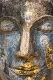 Face de Buddha, Sukhothai, Tailândia. Foto de Stock