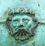 Face de cobre Foto de Stock