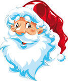Face de Papai Noel Imagem de Stock