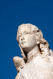 Face de pedra do anjo Fotos de Stock Royalty Free