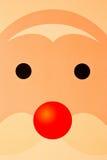 Face de Santa Foto de Stock Royalty Free