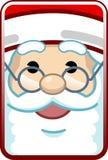Face de Santa Imagens de Stock
