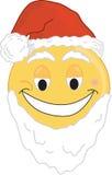Face de Santa Imagens de Stock Royalty Free