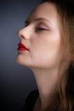 Face de sonhar a mulher fotos de stock royalty free