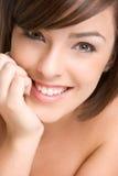 Face de sorriso bonita Fotos de Stock