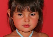 A face de uma criança bonita fotografia de stock royalty free