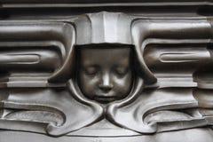 Face de uma criança de sono Foto de Stock Royalty Free