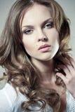 Face de uma menina 'sexy' Imagens de Stock Royalty Free