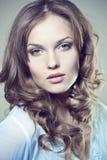 Face de uma menina 'sexy' Fotografia de Stock Royalty Free