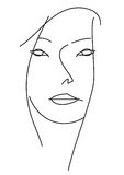 Face de Woman?s. Imagens de Stock