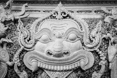 Face demon Stock Image