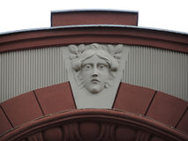 Face detail ornament Royalty Free Stock Images