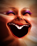 Face distorcida humana 7 Fotos de Stock Royalty Free