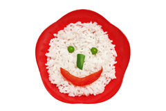 Face do arroz Fotos de Stock Royalty Free