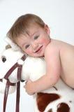 Face do bebê Foto de Stock