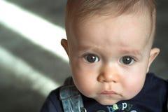 Face do bebê Imagens de Stock Royalty Free
