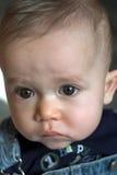 Face do bebê Imagens de Stock