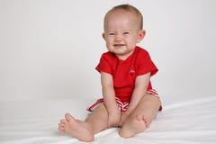 Face do bebê fotografia de stock