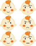 Face do bebê Ilustração Royalty Free