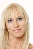 Face do blonde bonito Foto de Stock