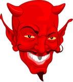 Face do diabo Foto de Stock Royalty Free