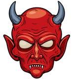 Face do diabo Foto de Stock