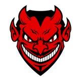 Face do diabo Fotografia de Stock