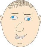 Face do homem Fotografia de Stock