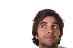 Face do homem novo Imagens de Stock Royalty Free