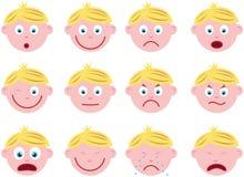 Face do menino Imagem de Stock