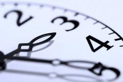 Face do relógio Fotos de Stock