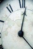 Face do relógio Imagem de Stock