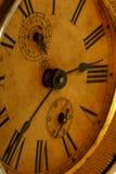 Face do relógio velha Fotografia de Stock Royalty Free