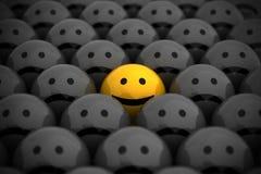 Face do smiley ilustração do vetor