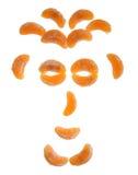 Face do Tangerine Fotos de Stock