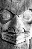 Face do Totem Fotografia de Stock