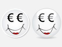 Face dos desenhos animados Imagens de Stock