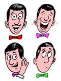 Face dos desenhos animados ilustração stock